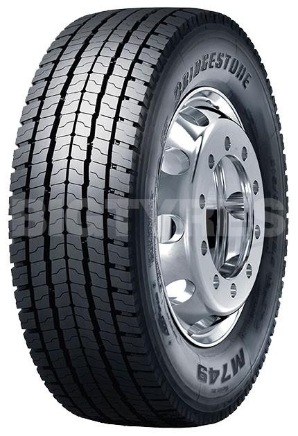 315 70r22 5 Bridgestone M749 Ecopia Tl Drive M S 3pmsf
