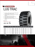 Lug Trac Tech Sheet