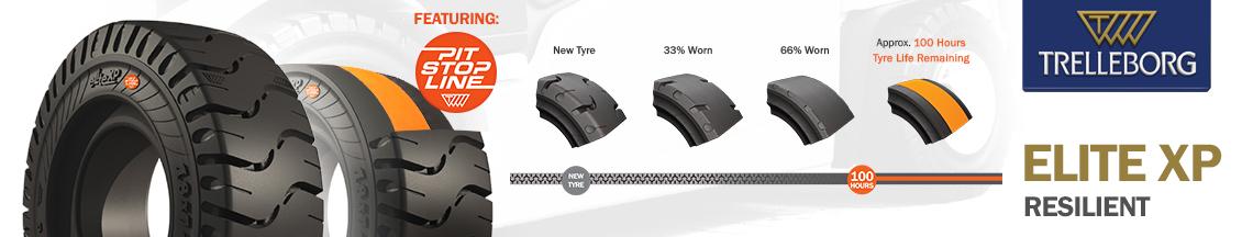 Trelleborg Elite XP Solid Tyres