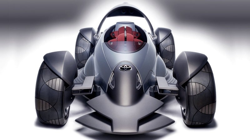Toyota Planning Brilliant Open-Wheel Sports Car Concept