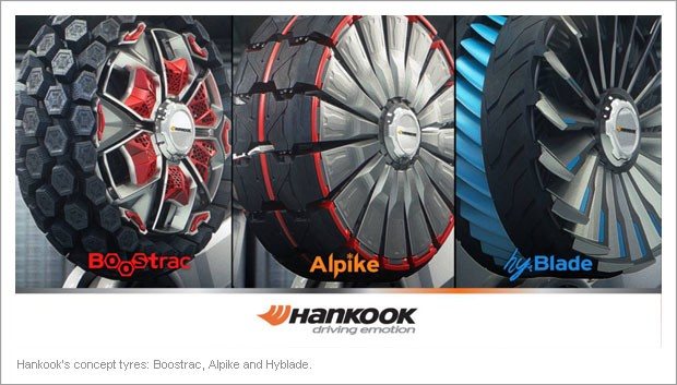Awards for Hankook's Amazing Concept Tyres