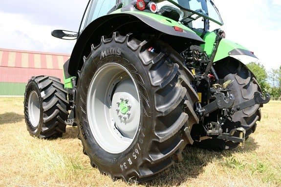 Machinery Manufacturers now switching Continental tyres to Mitas tyres