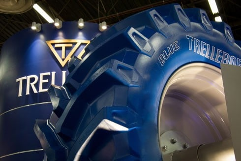Trelleborg to Launch TM700 ProgressiveTraction Tractor Tyre Range