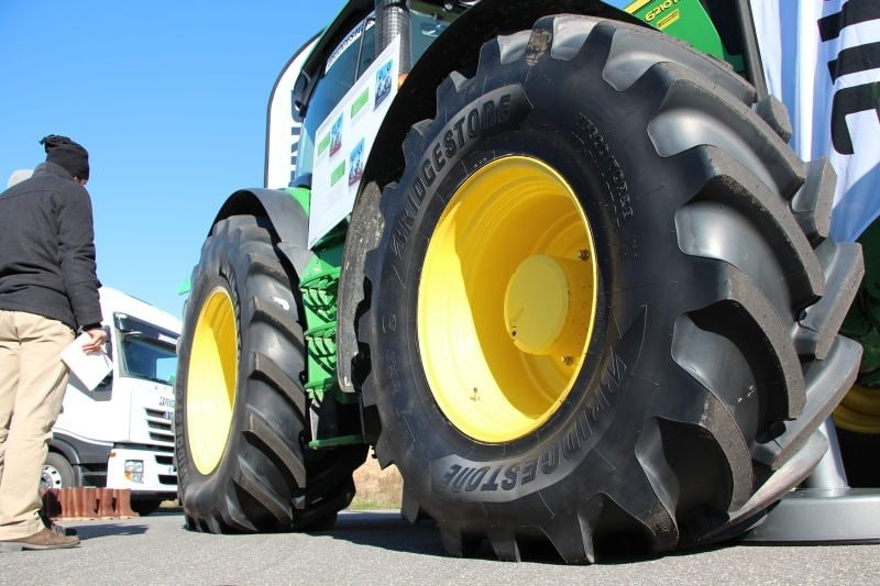 Bridgestone launches new VT-Tractor tyre range