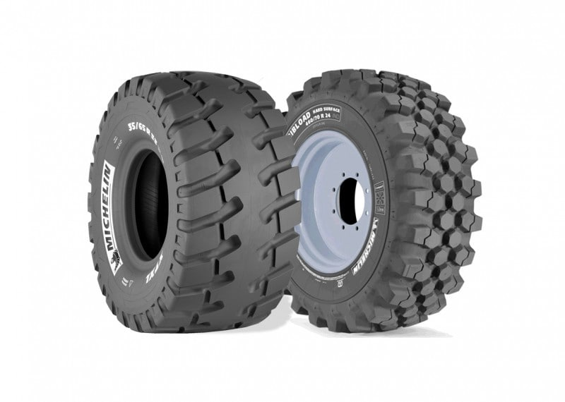 Michelin Introduced Two New Earthmover Tyres At Intermat 2015
