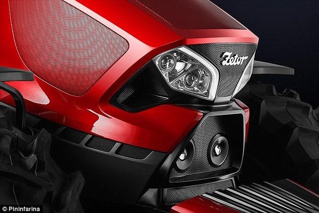 Ferrari Designers Create a Concept Tractor