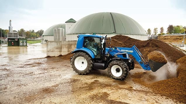 New Holland Unveil Methane Powered Tractor