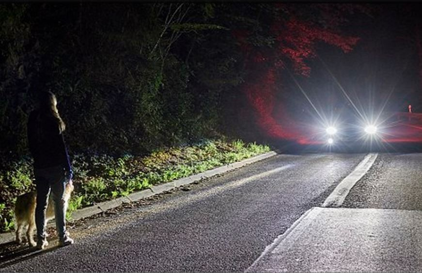 Ford New Lighting Tech Helps Drivers See the Light