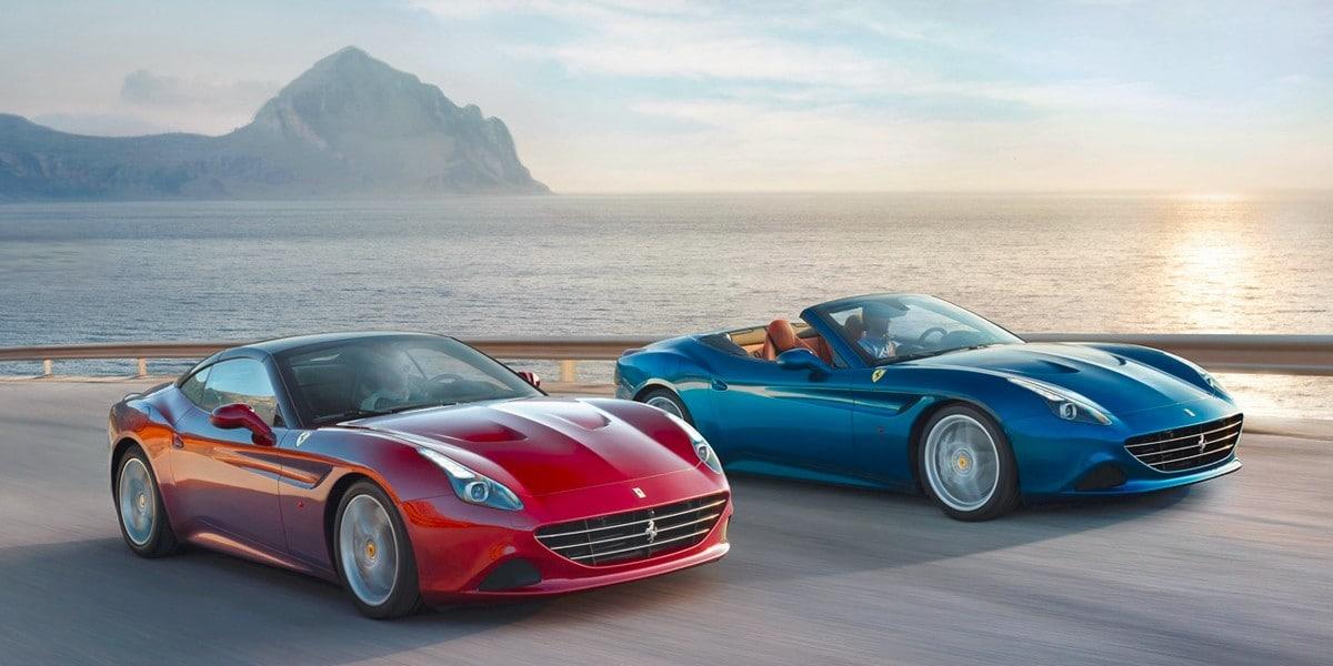 Bridgestone Tyres OE On Ferrari California T