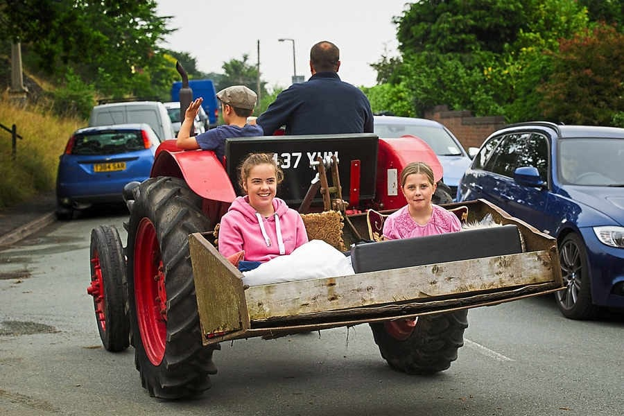 Shropshire Tractor Event Raises Money for Charity