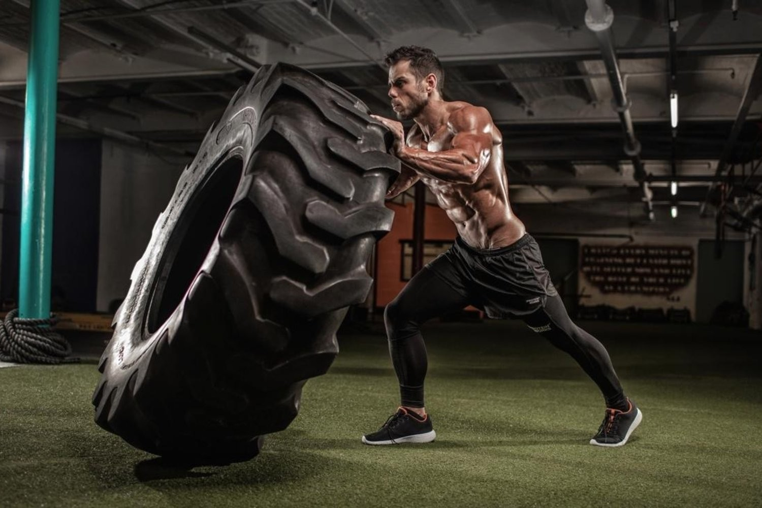Using Tyres For Fitness In The Gym