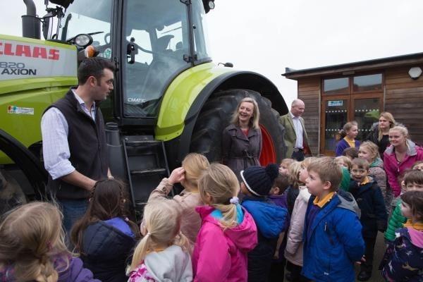 NFU Taking 50 Tractors into 50 Schools