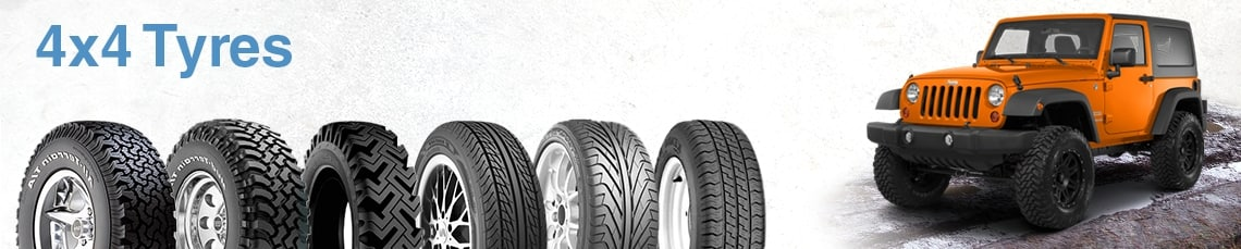 Shop for 4x4 Tyres