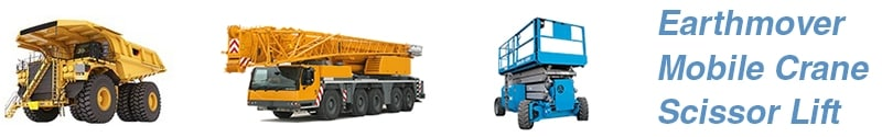 Earthmover, Mobile Crane & Scissor Lift On-Site Tyre Fitting