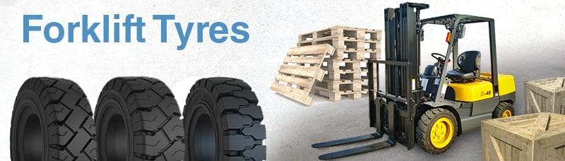 Shop for Forklift Tyres