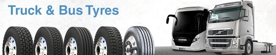 Shop Truck Tyres & Bus Tyres